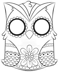 Cooloring Book Female Sugar Skull Coloring Freeay Of The Pages For