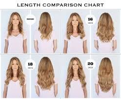 Clip In Hair Extension Length Chart What Length Should I Buy 24 Inch Hair Extensions Clip In