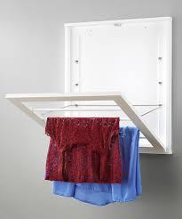 whitmor wood wall mounted drying rack