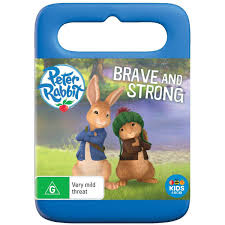 peter rabbit brave and strong