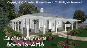 one story house plans with porch. Tiny Country Cottage House Plan 1 Bedroom, Bath, Story One Plans With Porch H