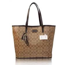 2016 New Designer Coach Sophia Tote In Signature Canvas