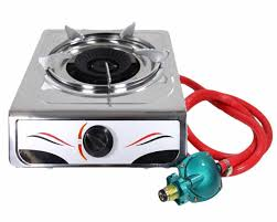 bioexcel portable auto ignition 15 000 btu single burner propane gas stove stainless steel perfect