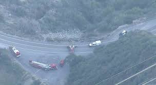 1 Dead After Vehicle Goes Over Side of Road Along Angeles Crest ...