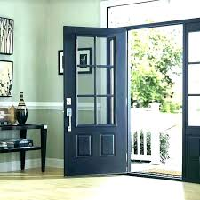 s entry door glass inserts home depot