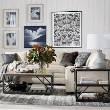 New design living room furniture Blue Cozy Cottage Style Living Room Living Spaces Shop Living Rooms Ethan Allen Ethan Allen