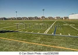 grass american football field. Football Field - Csp22362068 Grass American