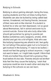 bullying in school essays images for bullying in school essays