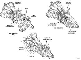 dodge dakota wiring diagrams pin outs locations brianesser com 1999 3 8 Transmission Wiring Harness 2000, manual transmission connector location Ford F-250 Transmission Wire Harness