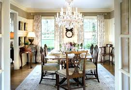 chandelier height above dining table modern chandeliers for dining room best