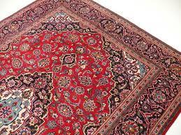 Tappeto Tessuto A Mano : Vero tappeto persiano tessuto a mano da kashan iran rosso