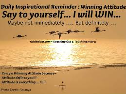 Daily Inspirational Reminder Winning Attitude Inspirational Gorgeous Daily Inspirational Thoughts
