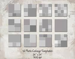 12 Storyboard Templates 8.5X11 Photo Collage Templates