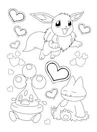 Pokemon Diamond Pearl Coloring Pages Coloringpages1001com