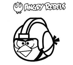 Small Picture Angry Bird Coloring Pages Angry Bird Bothering Pigs On Vacation