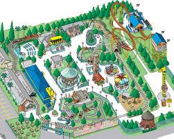 City Park Ride Info Adventure amp; Themeparkreviewers Map -