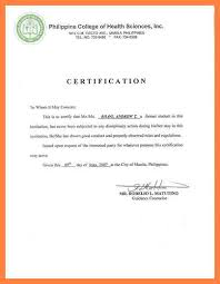 Good Moral Character Certificate Sample Filename Radio Merkezi