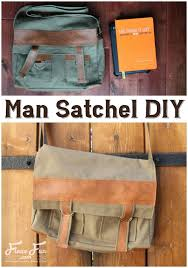 i love this how to make a man satchel diy tutorial it s the perfect handmade