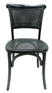 lotta dining chair black set of 2