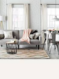 Light grey couch Gray Couch Ideal For Small Spaces Futon Converts From Sofa To Bed For Maximum Functionality Browse Futons Target Sofas Sectionals Target