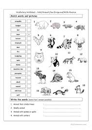 Animals Worksheet Free Worksheets Library | Download and Print ...
