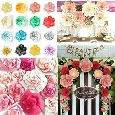 Paper Flower Backdrop Rental Flower Backdrop A Handmade Blooming For Gorgeous Event