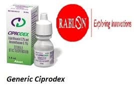 generic ciprodex eye drops