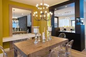 eclectic home design decorating ideas dining room contemporary with winnipeg style brown chandeliers