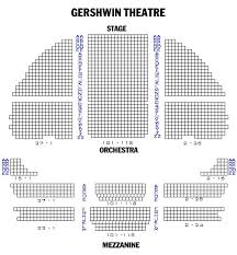 Brooklyn Academy Of Music Seating Chart 15 Abiding Gershwin Theatre Seating Chart View