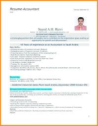 Resume Format For Accountant Doc Download Senior Accountant Resume