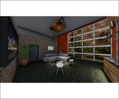 Chambers Interior Design Bold Modern Entertainment 3d Design For Chambers Escape