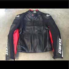 Mens Dainese G Alien Pelle Leather Jacket