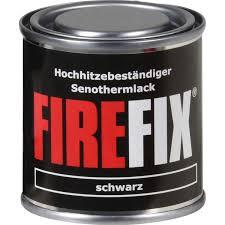 Firfix Ofenlack Schwarz 125 Ml