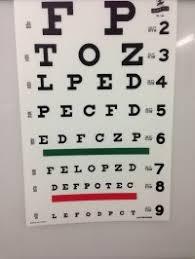 Dot Physical Eye Chart Kansas Dmv Eye Chart Free Kansas Drivers License