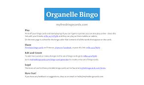 My Free Bingo Cards Free Printable Bingo Cards Free Printable Bingo