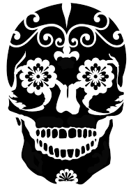 printable stencils for painting pumpkins sugar skull clipart pumpkin carving template 2