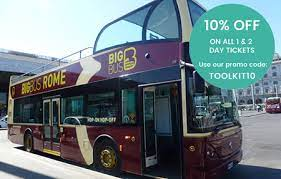 big bus rome hop on hop off sightseeing