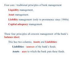 definitions of balance sheet the banks balance sheet definitions etc managing the banks