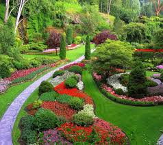 How To Decorate Home Gardens Garden Decoration Modern And Traditional  Pathways