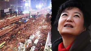 Image result for president park south korea impeachment