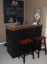 man cave bar. What Is A Man Cave Without Your Own Personal Bar! Use Recycled Old Doors To Bar