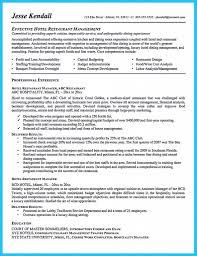 Restaurant General Manager Job Description For Resume Best Of