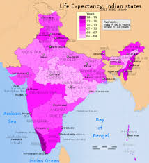 List Of Indian States By Life Expectancy At Birth Wikipedia