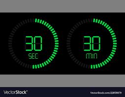 Download Timer Stopwatch Digital Green Countdown Timer