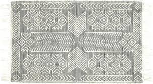 black white gray rug legend and pattern kilim