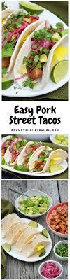 pork street tacos easy pork street tacos