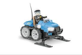 <b>Конструктор COBI Полицейский</b> снегоход Police Snowmobile ...