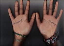 Tapety Ruce Náramky Tetování Inkoust Prsty Kurzívní Ruka