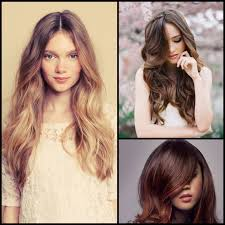 Hair Color Inspiration Spring Ombre Subtly Fades From Dark To