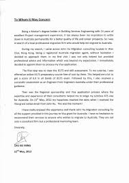 Visa Sponsorship Letter Resume Template Sample